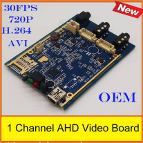 FREE SHIPPING Real time 1CH Mini AHD XBOX DVR PCB Board up