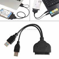 USB3.0 to 2.5 HDD SATA Hard Drive Cable Adapter for SATA 3.0