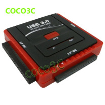 Free shipping USB 3.0 To 2.5 3.5 SATA IDE HDD SSD, CD-ROM
