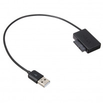 USB to SATA Laptop CD-ROM Cable USB 2.0 to 13Pin Slimline