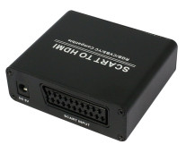 PLayvision SCART to HDMI audio Scaler Box Scales up SCART to