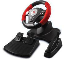 ViGRAND Free Shipping Wired USB PS2/PS3/PC 3 in 1 Steering