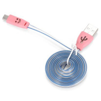 Micro USB Data Sync Cable Charging Line LED Sparkle